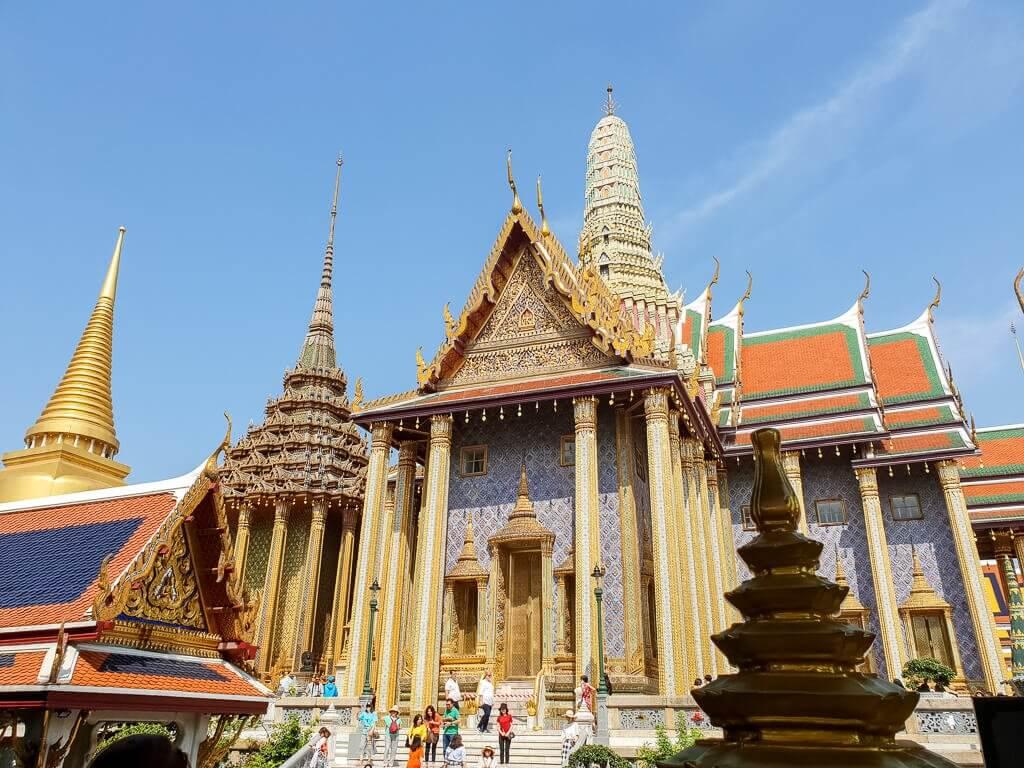 Königspalast Bangkok - Tempel