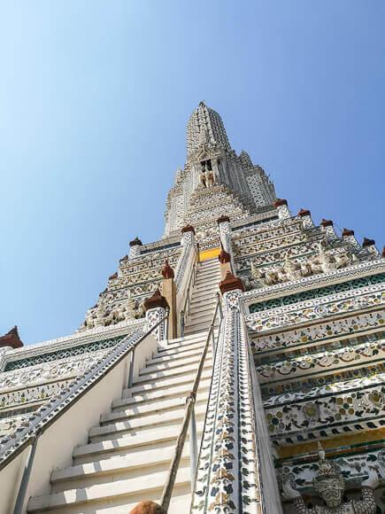 Wat Arun - zentraler Prang