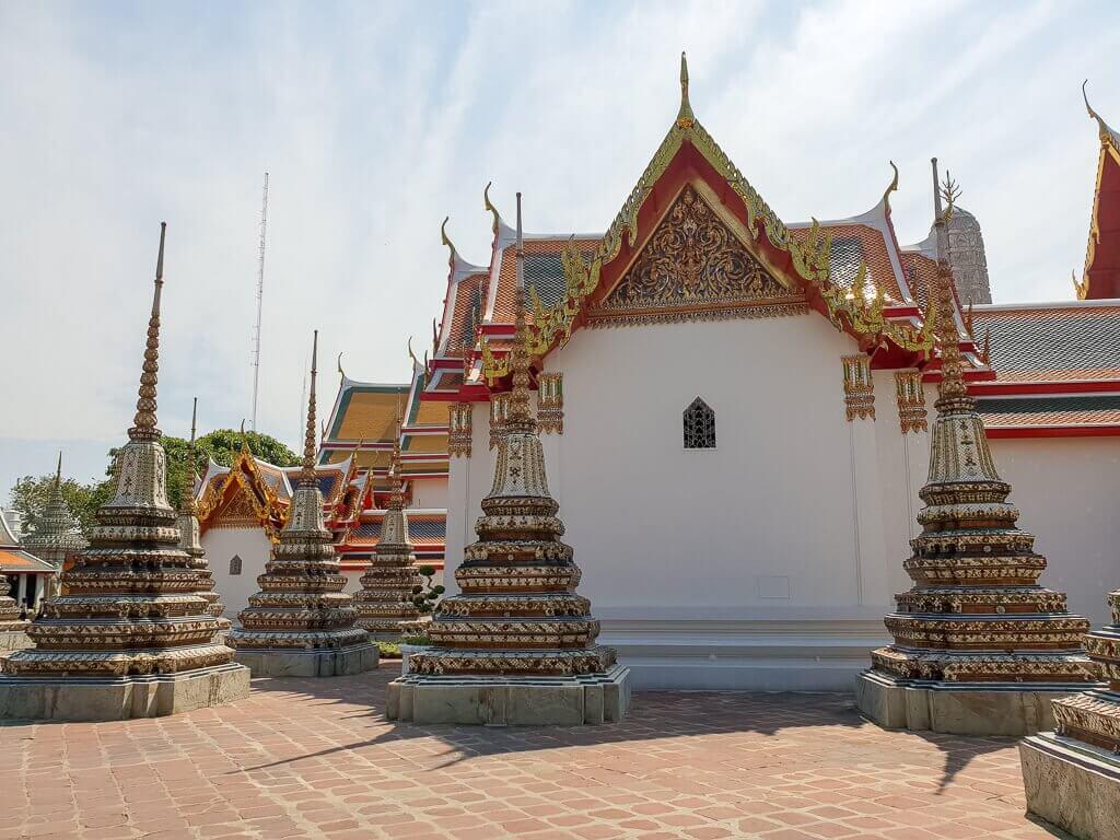 Wat Pho Innenhof