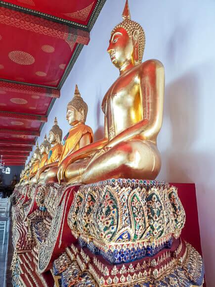 Buddha-Statuen Wat Pho