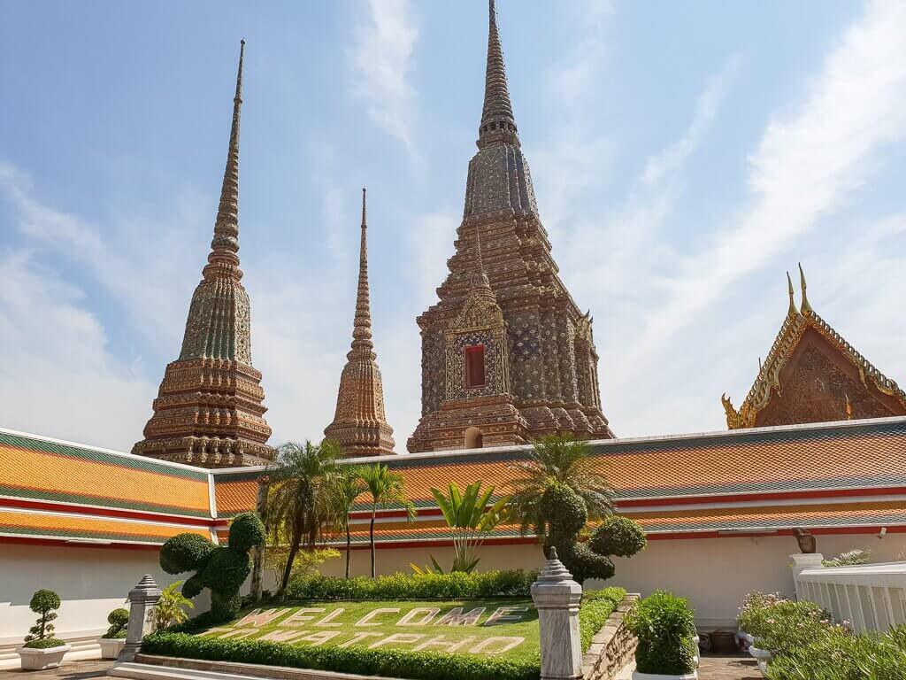 Wat Pho Bangkok - Chedis