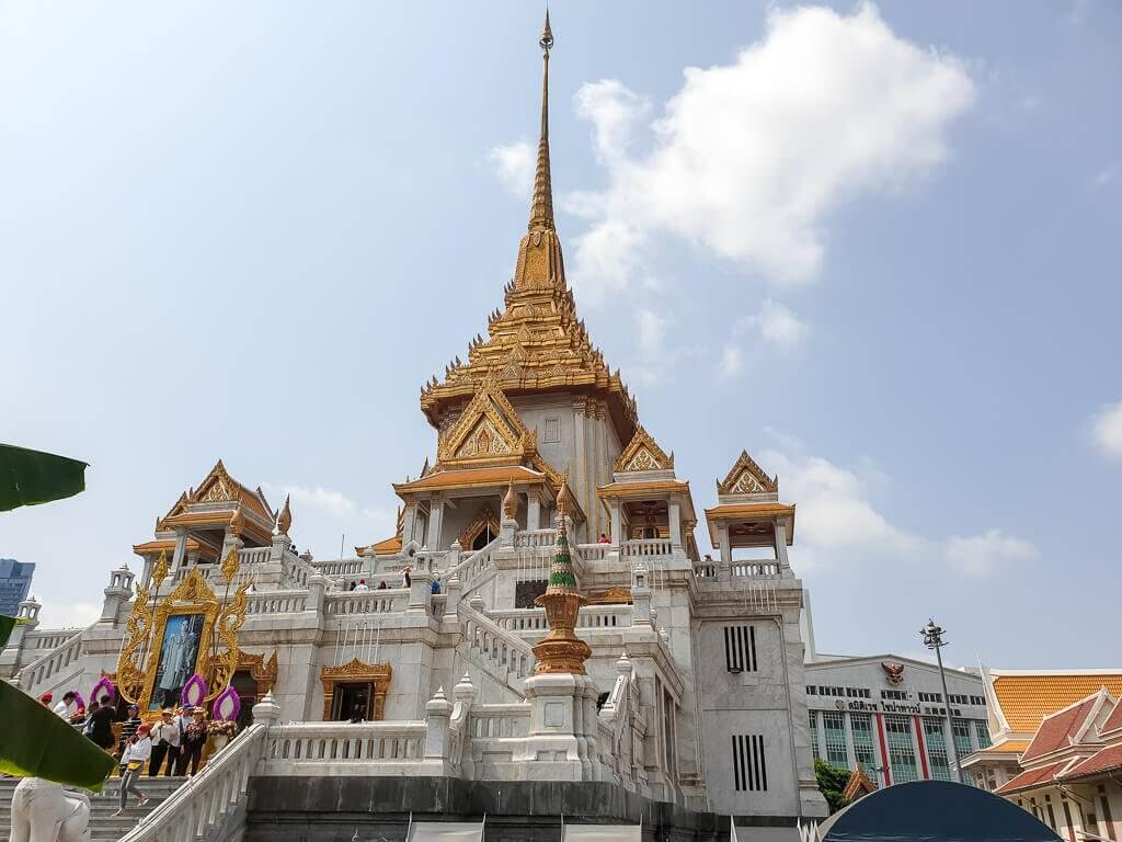 Wat Traimit - Tempel des Goldenen Buddha