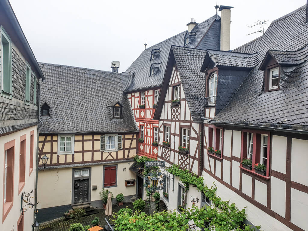 Fachwerkhäuser in Beilstein