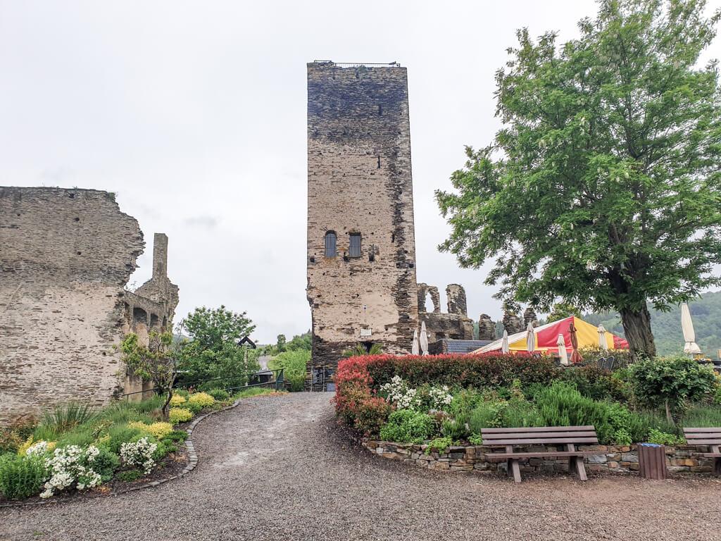 Burgruine Metternich in Beilstein