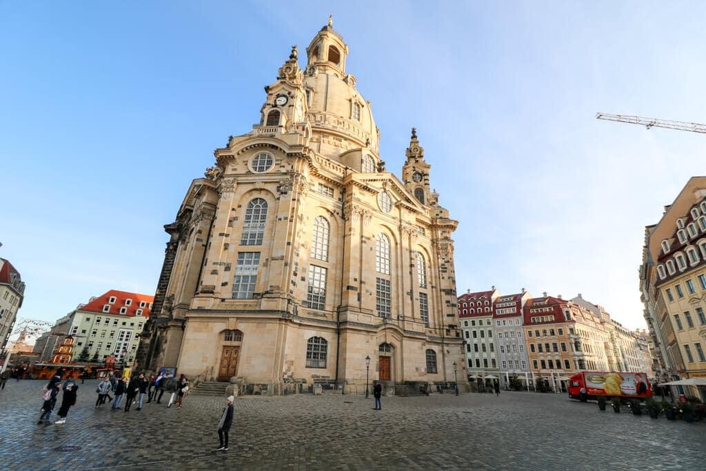 Frauenkirche Dresden in der Altstadt