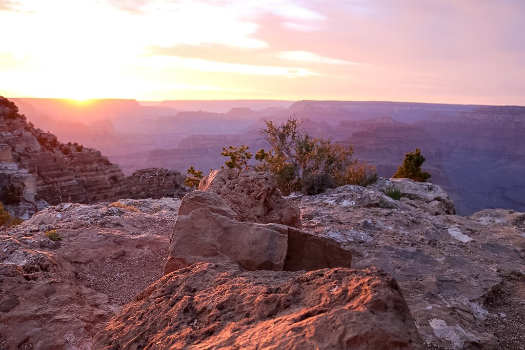 Grand Canyon Nationalpark - Hopi Point - Sonnenuntergang