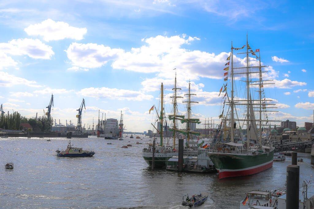 Hamburg - Hafen - Hafengeburtstag
