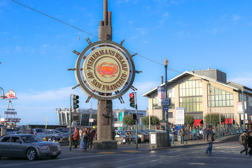 San Francisco - Fishermans Wharf -Hafen