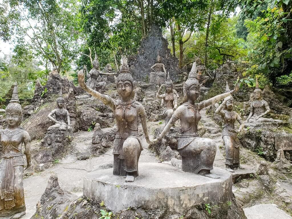 Tarnim Magic Garden Ko Samui - Steinfiguren