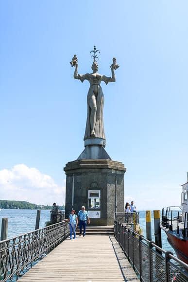 Imperia-Statue Bodensee