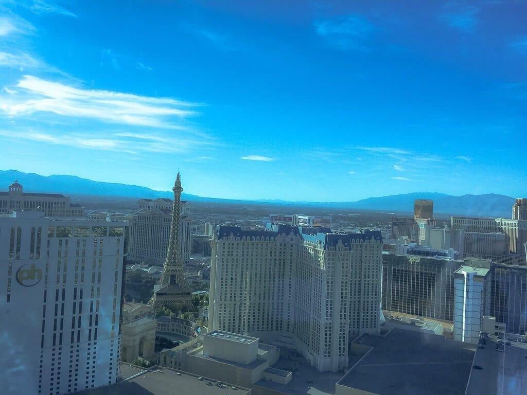Las Vegas - Aussicht vom Hilton