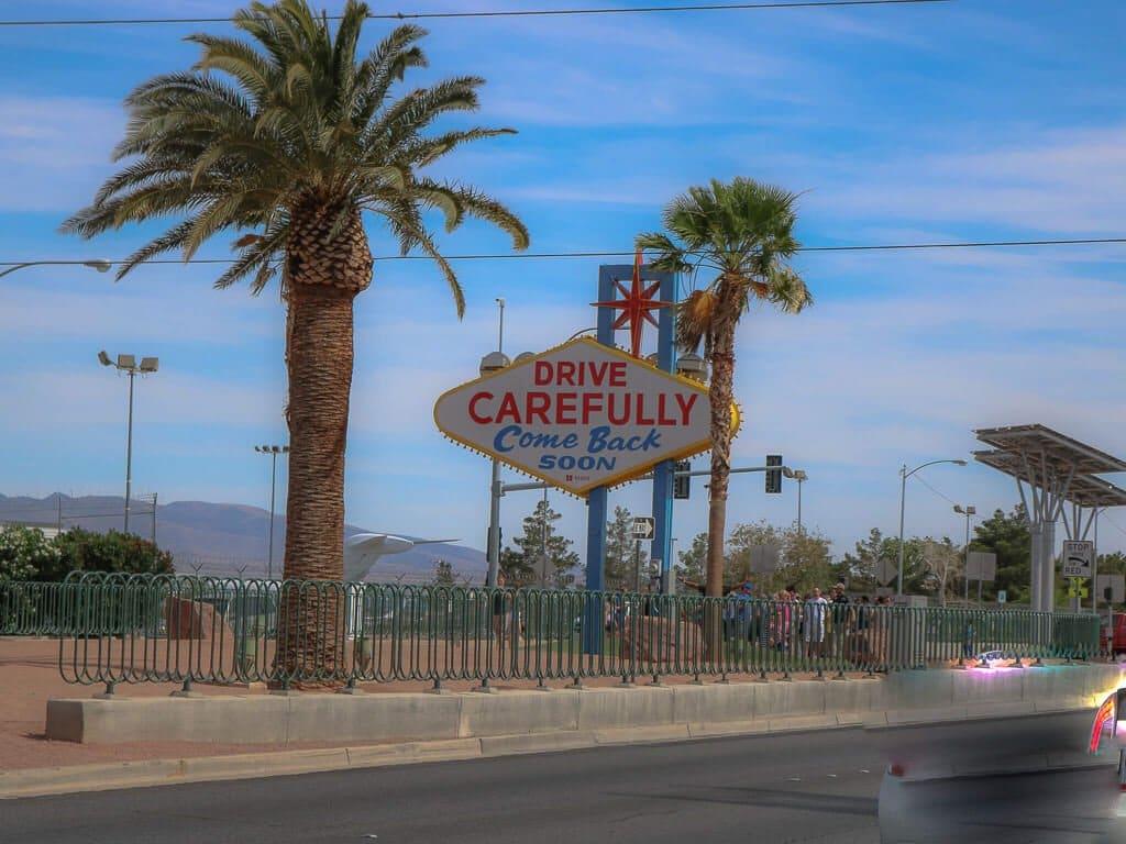 Las Vegas Sign Rückseite