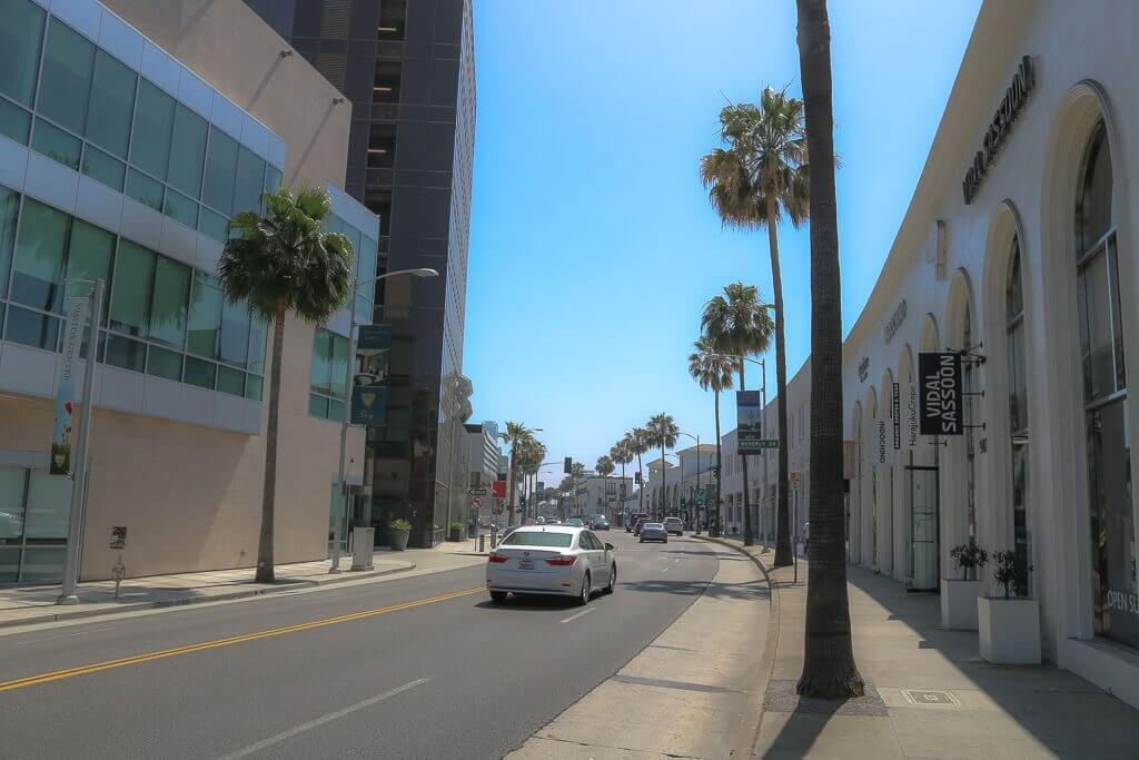 Los Angeles_Beverly Hills_Straße