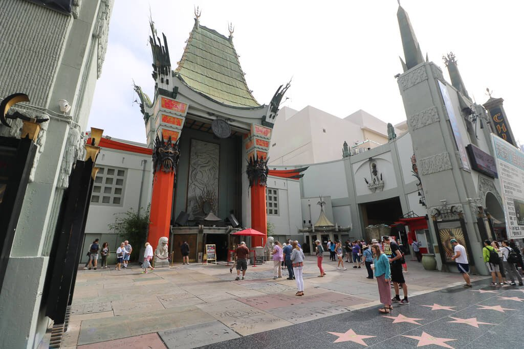 Hollywood - Chinese Theatre - Walk of fame