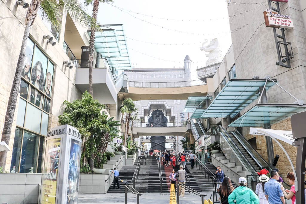 Hollywood - Dolby Theatre - Walk of Fame
