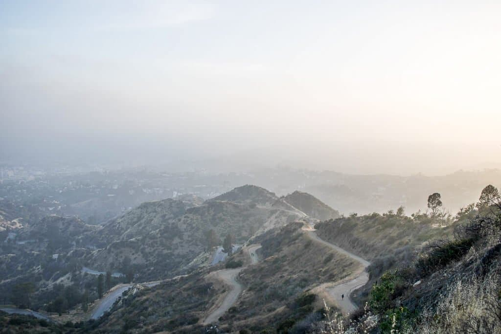 Los Angeles - Griffith Observatory - Wanderwege