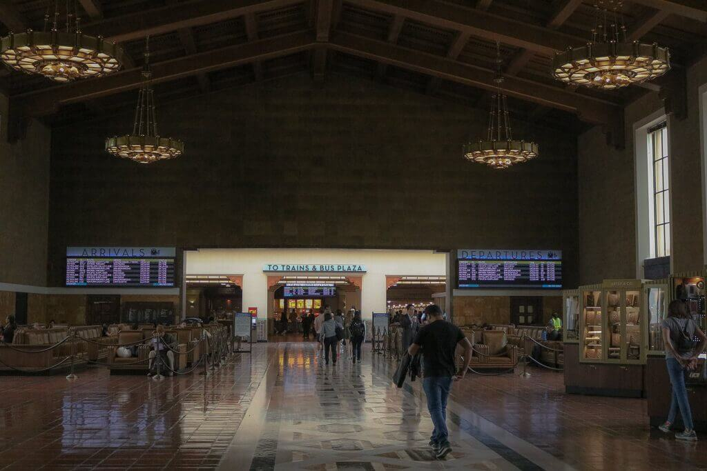 Los Angeles - Union Station - Wartehalle