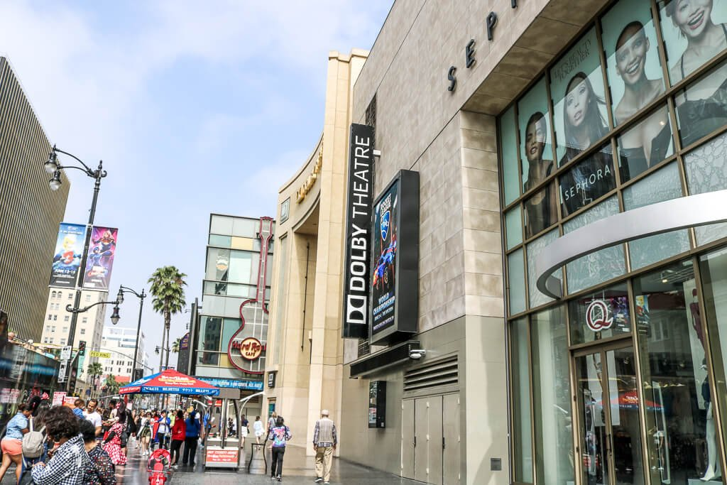 Hollywood - Dolby Theatre - Walk of Fame - Hollywood Boulevard
