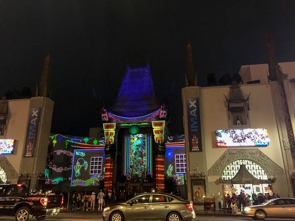 Chinese Theatre - Hollywood - Los Angeles - Nachts
