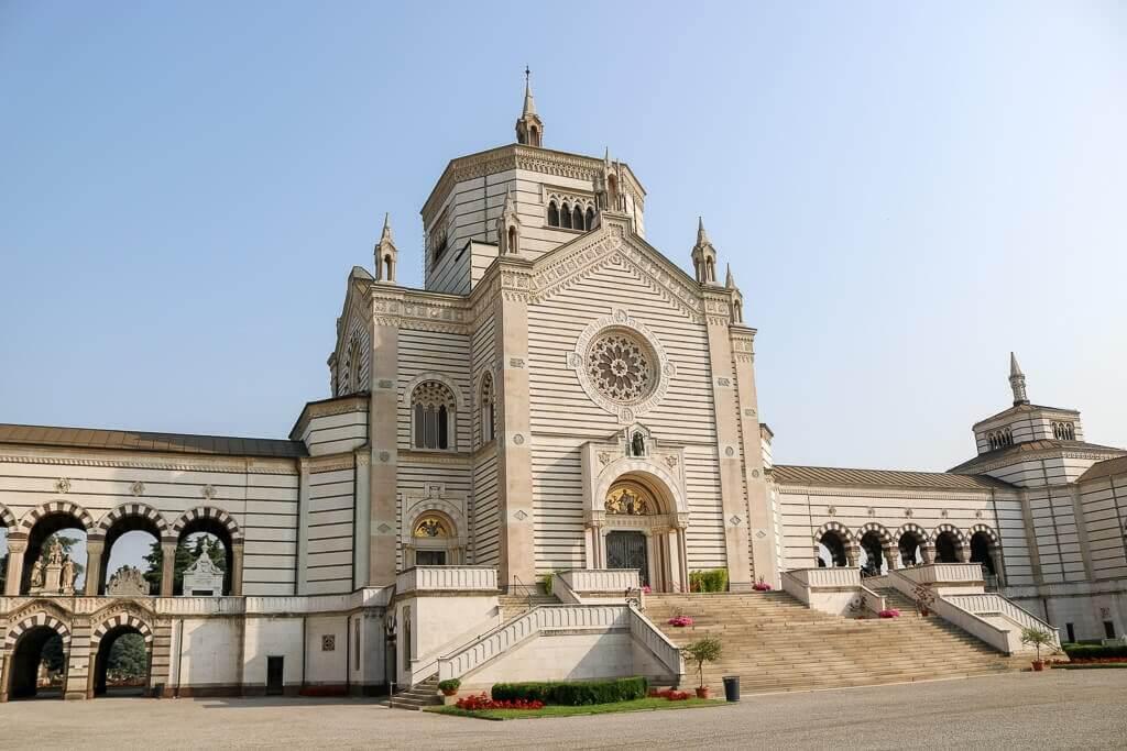 verzierte Kapelle des Friedhof