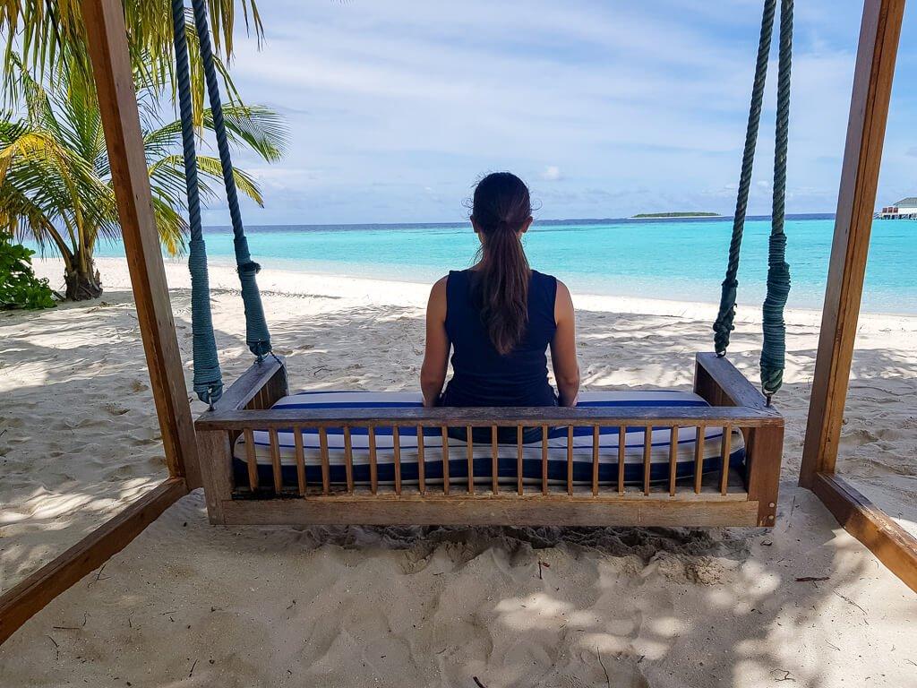Amari Havodda Maldives - Schaukel am Strand - Strand - Meer