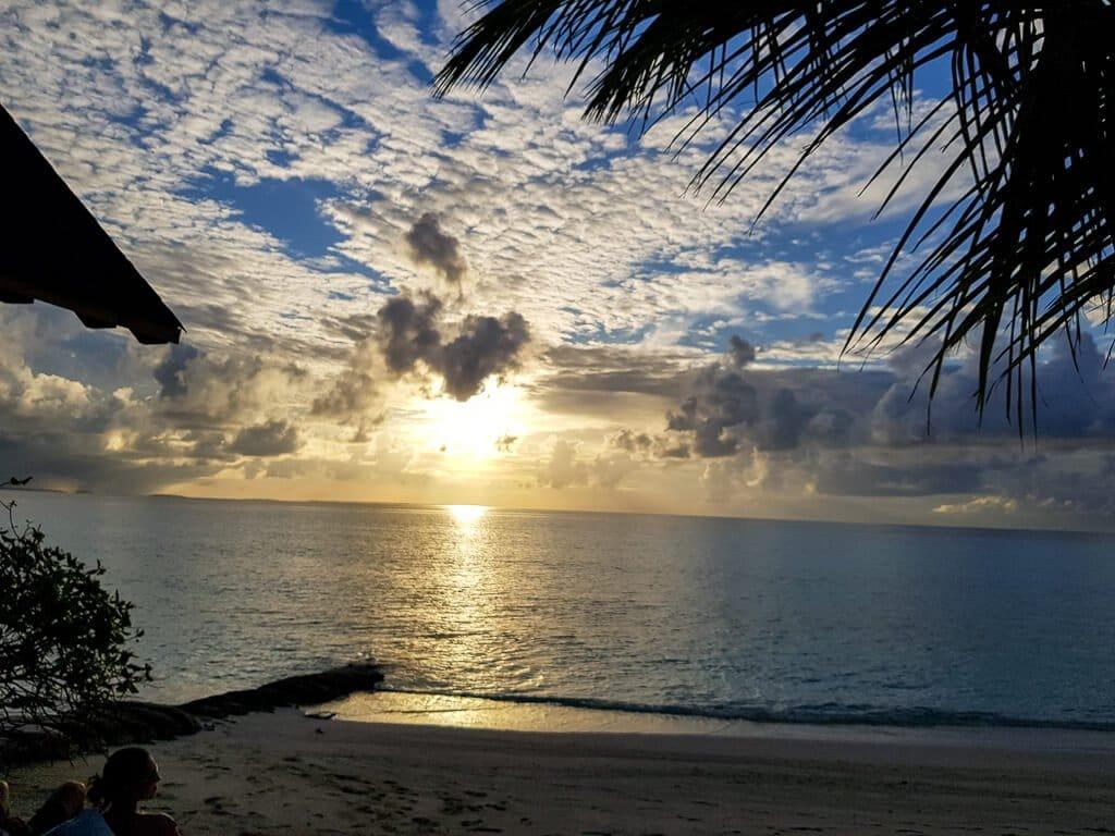 Malediven - Sonnenuntergang - Strand - Honeymoon