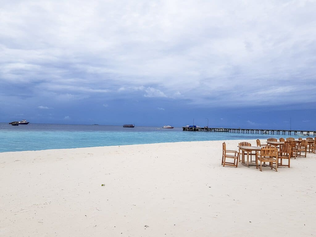 Malediven - Strand - Dinner- Meer - Flitterwochen