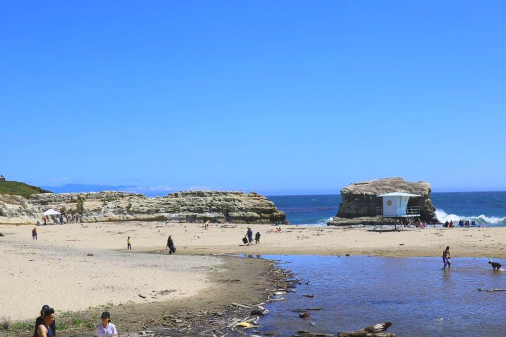 Santa Cruz - Strand bei den Natural Bridges