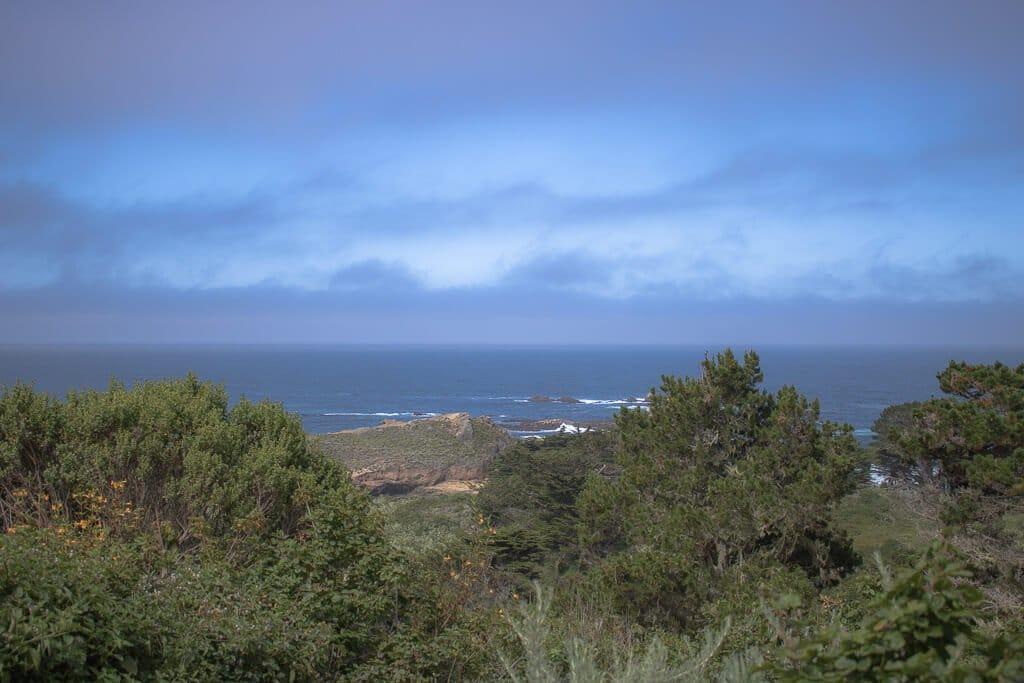 Monterey - Point Lobos - Whalers Knoll Trail - Ausblick aufs Meer