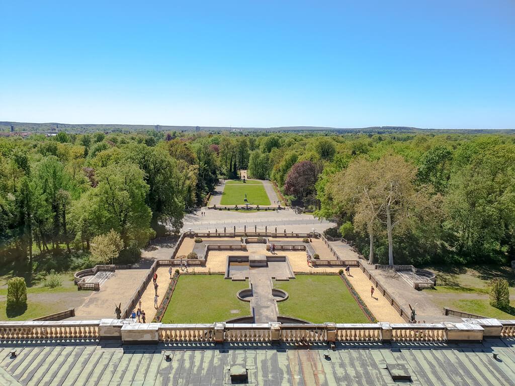Park Sanssouci: Ausblick auf eine Parkanlage