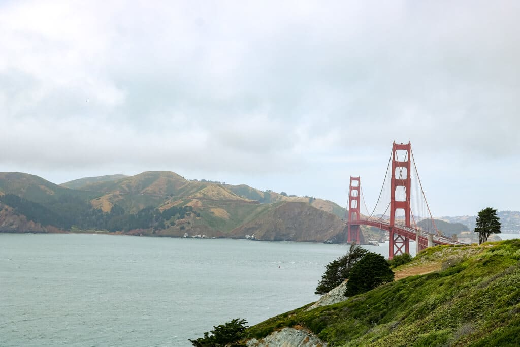 Golden Gate Bridge und das Meer