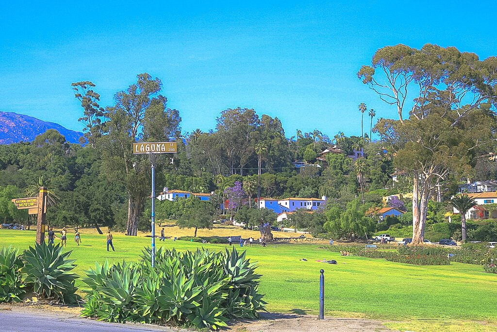 Santa Barbara - Grünfläche