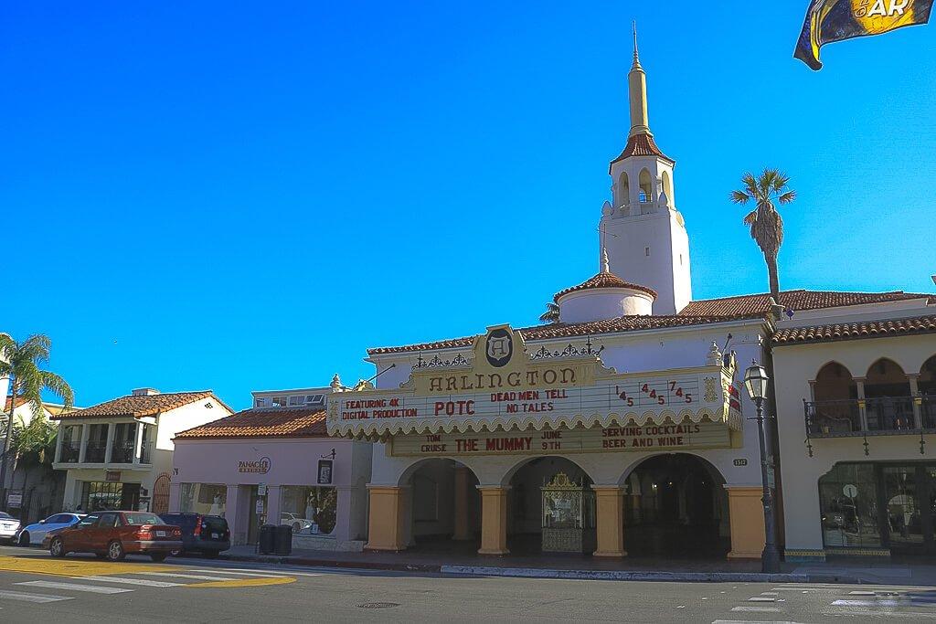Santa Barbara - Arlington - spanische Architektur