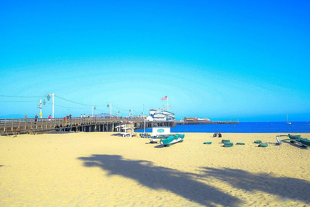 Santa Barbara - Strand -Stearns Wharf