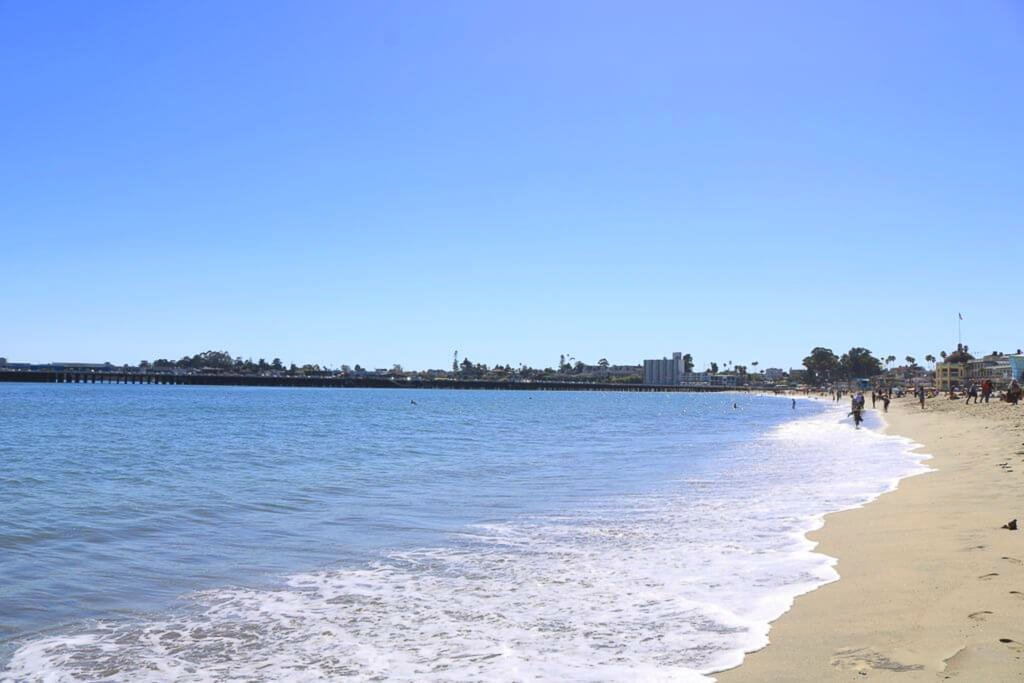 Santa Cruz - Beach Boardwalk - Strand und Meer