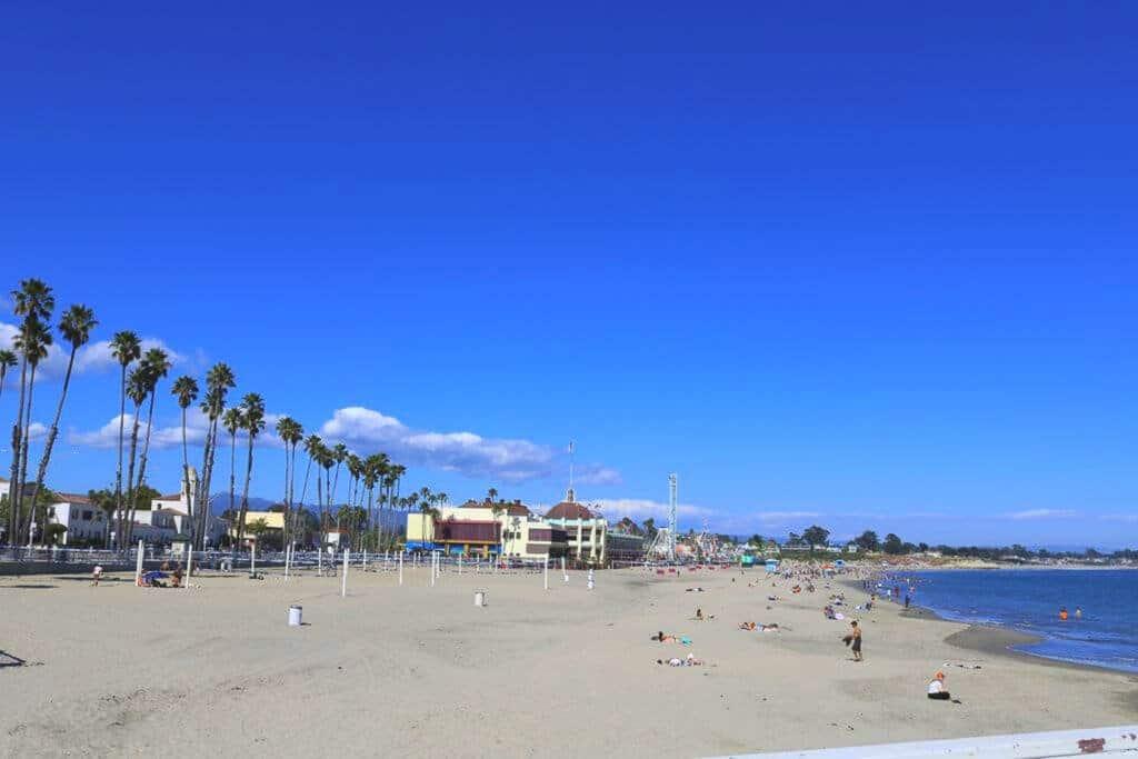 Santa Cruz - Strand, Palmen, Meer