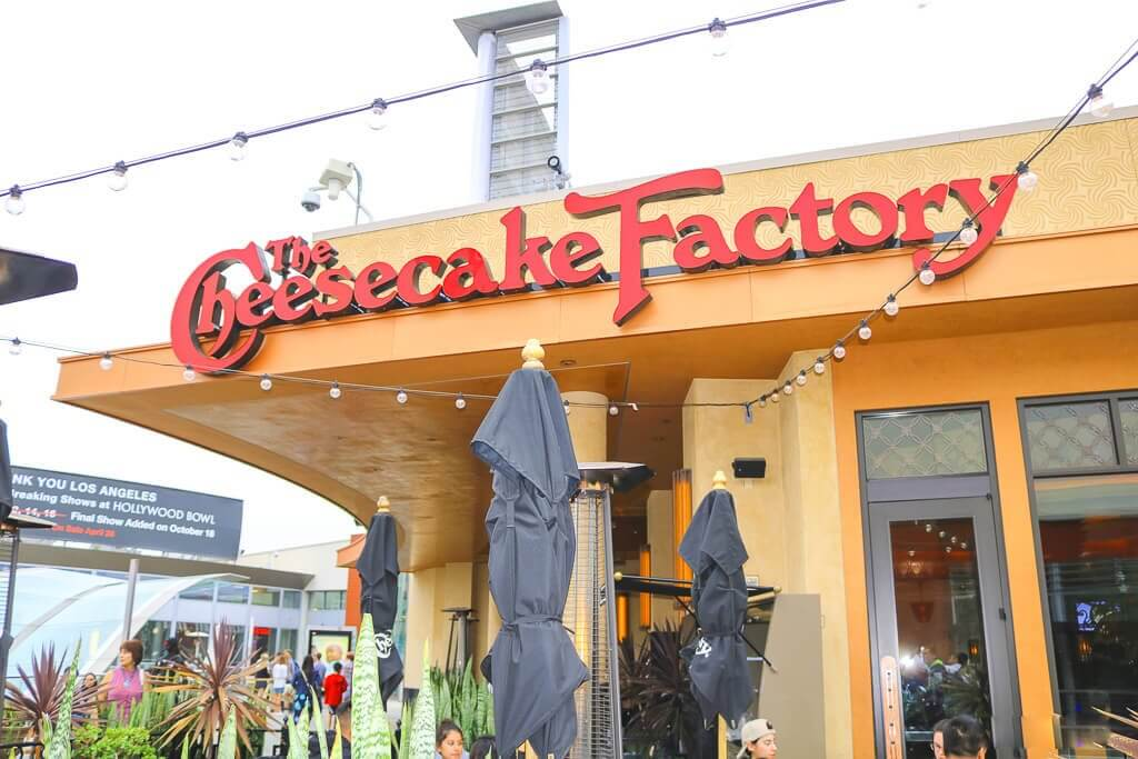 Santa Monica - Cheesecake Factory