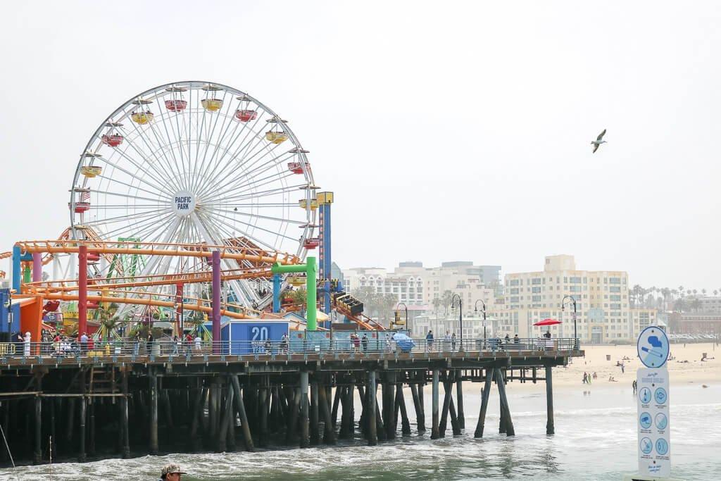 Santa Monica Pier - Pacific Park
