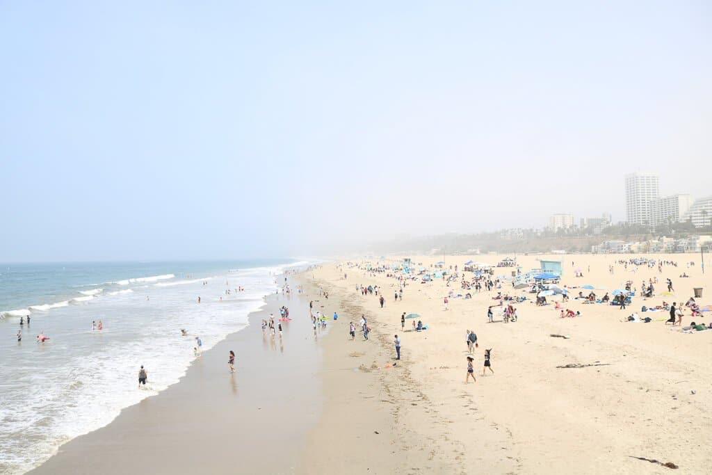 Santa Monica - Strand und Meer
