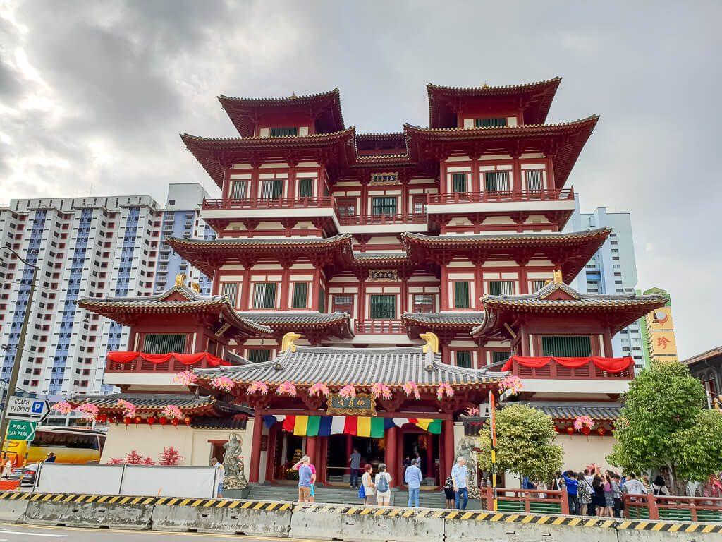 Tempel in Chinatown / Singapur