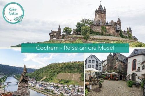 Collage Bilder aus Cochem und Beilstein