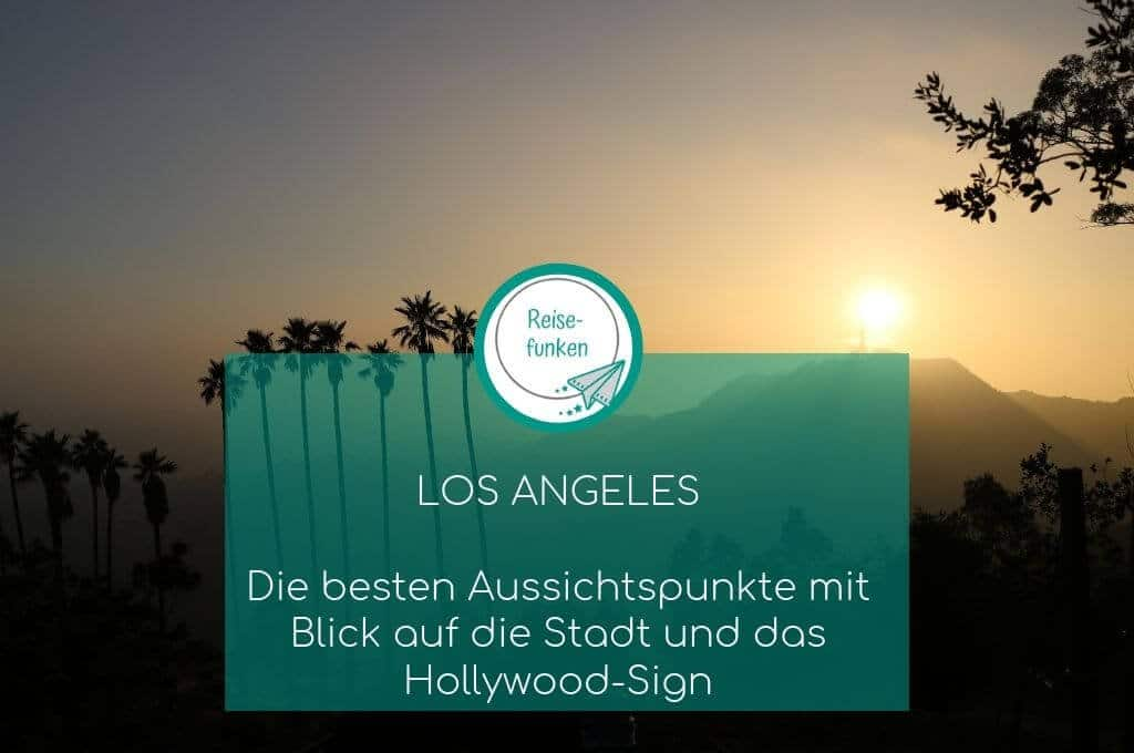 Los Angeles - Sonnenuntergang - Griffith Observatory