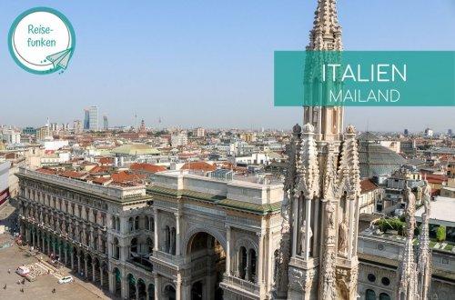 Blick über Mailand vom Dom aus