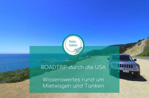 USA Roadtrip - Highway 1 - Auto