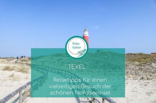 Texel - Leuchtturm am Strand