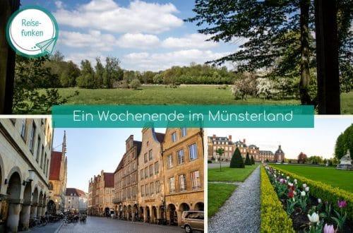 Collage mit Bild aus Münster und Nordkirchen
