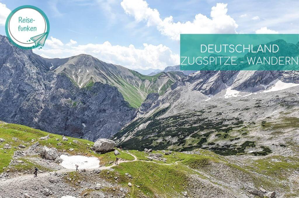 Zugspitze - Wanderwege und Berggipfel
