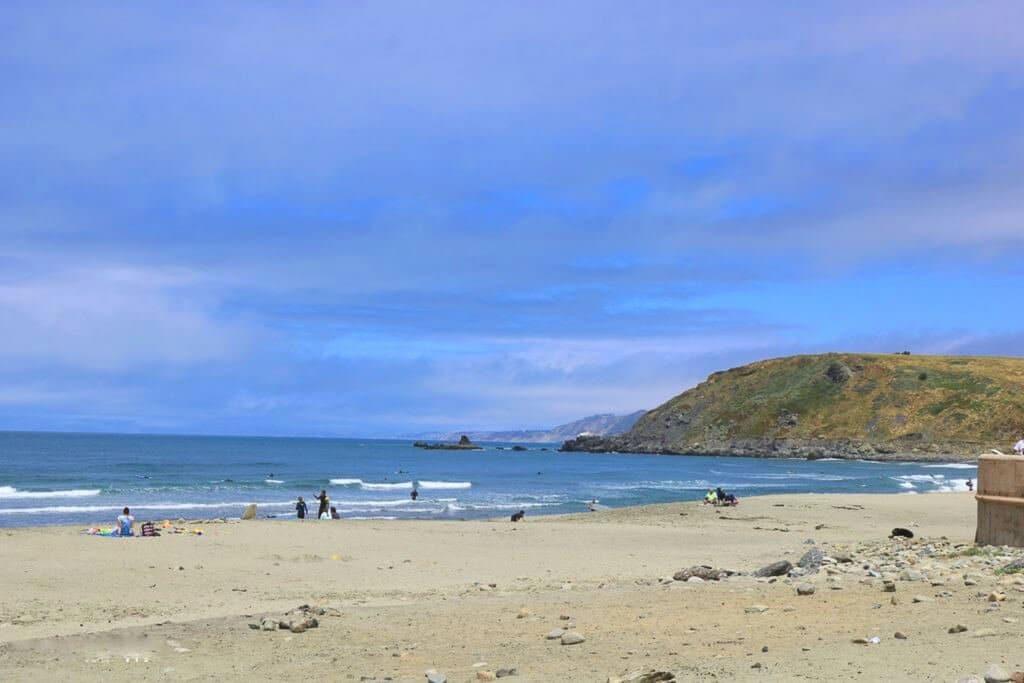 Viewpoint - Bucht am Highway 1 - Strand - Küste