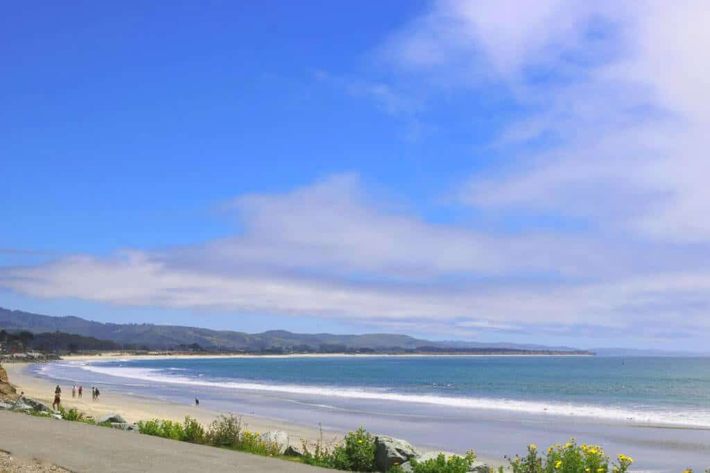 Strand am Highway 1 - Küstenpanorama